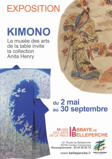 Anita HENRY Japon Kimono